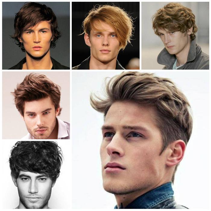 idée pour une coiffure homme décontractée et naturelle avec des cheveux mi-longs