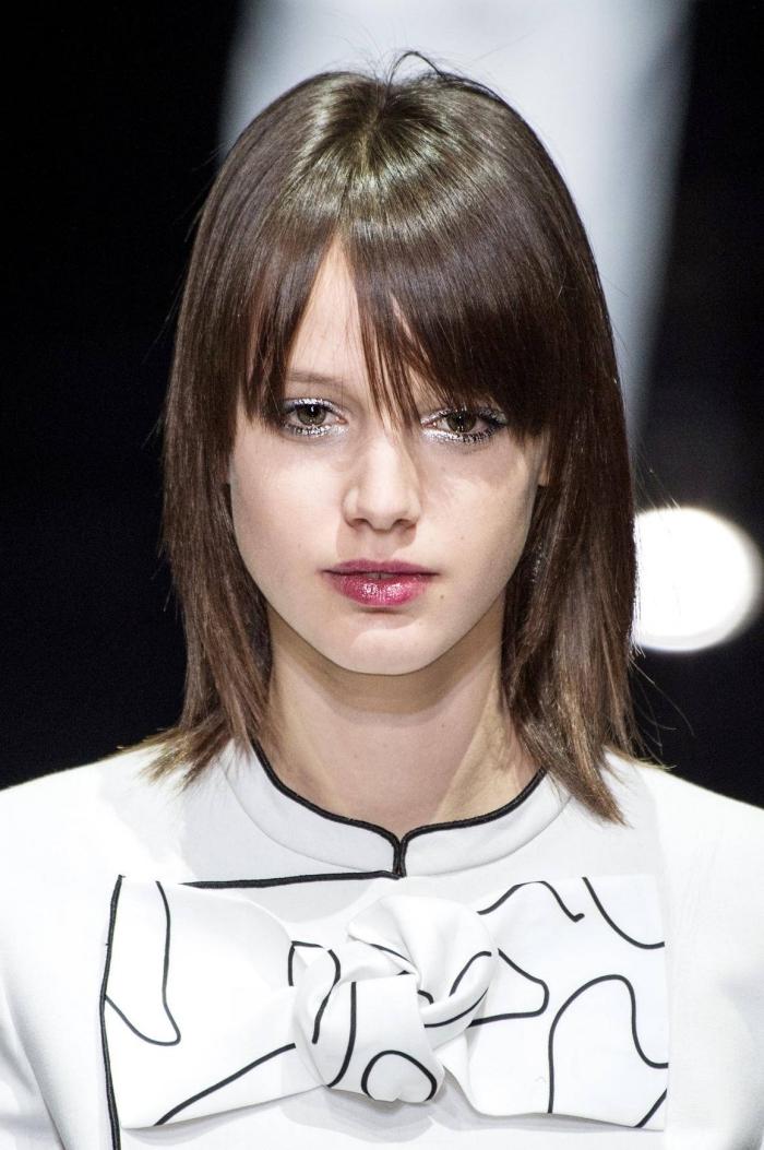 Frange cheveux longs et fins - Coupes de cheveux et coiffures