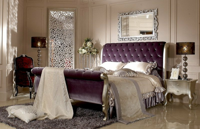 Chambre Baroque Moderne. Chambre Style Baroque Moderne U Basse ...