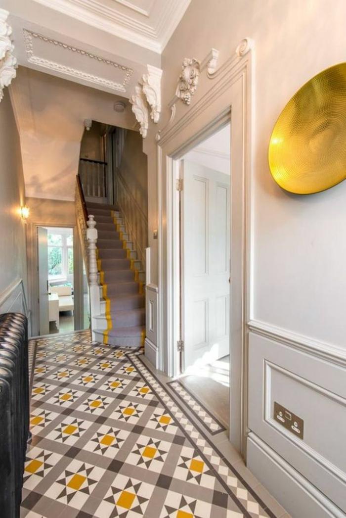 1001 id es pour savoir quelle couleur pour un couloir comment d corer un couloir. Black Bedroom Furniture Sets. Home Design Ideas