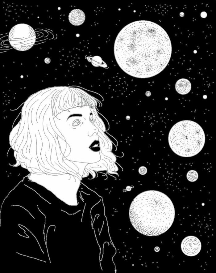 Technique dessin noir et blanc quel dessin faire pour un ami cadeau