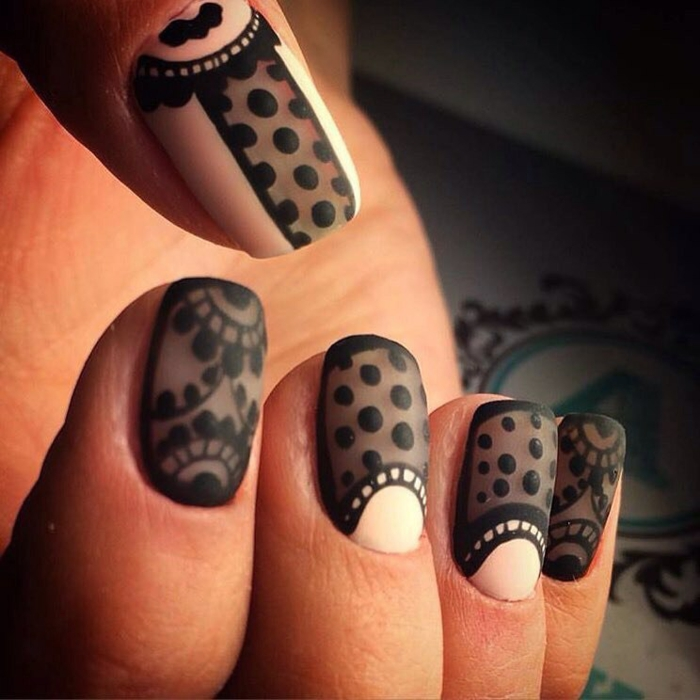 Beaux ongles nail art modele neil art idée décoration vintage idée comment dessiner ses ongles admirable idée ongles courts