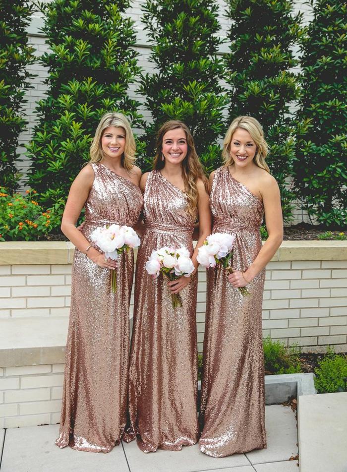 Mariage invitée fourreau robe bapteme femme robe dore quelle chaussure choisir demoiselles d honneur