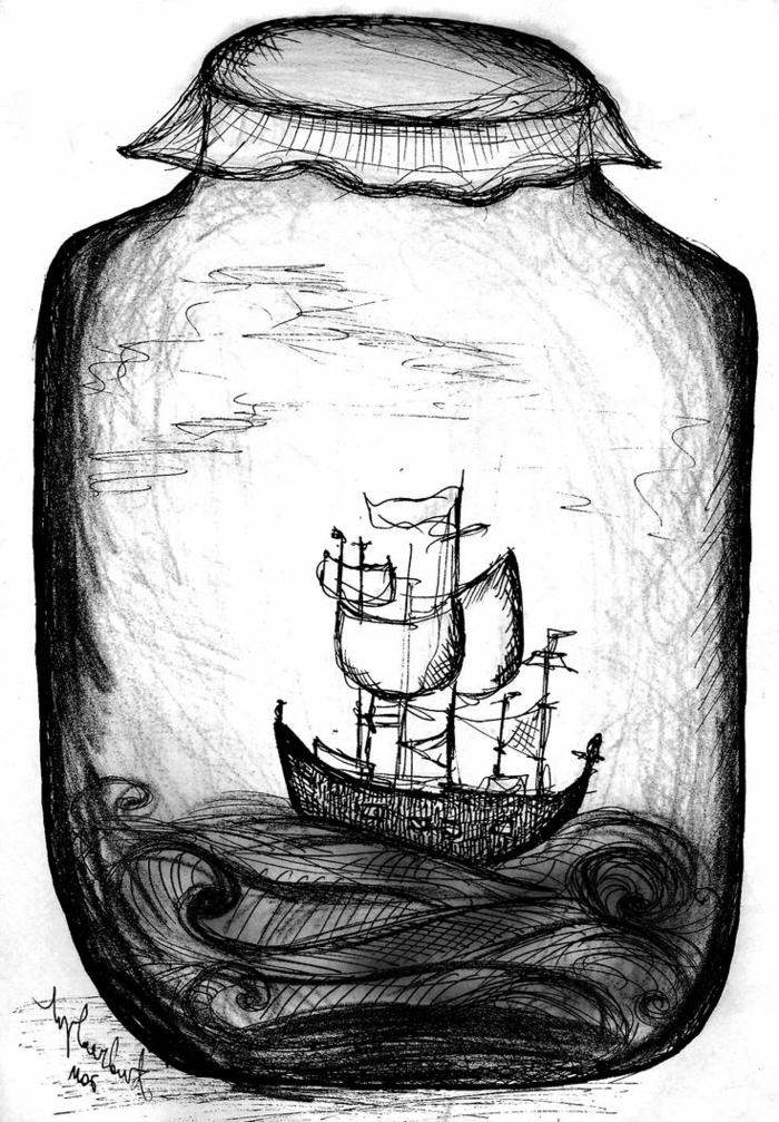 Peinture dessin noir et blanc a imprimer exemple en photo de dessin cool idée quoi dessiner
