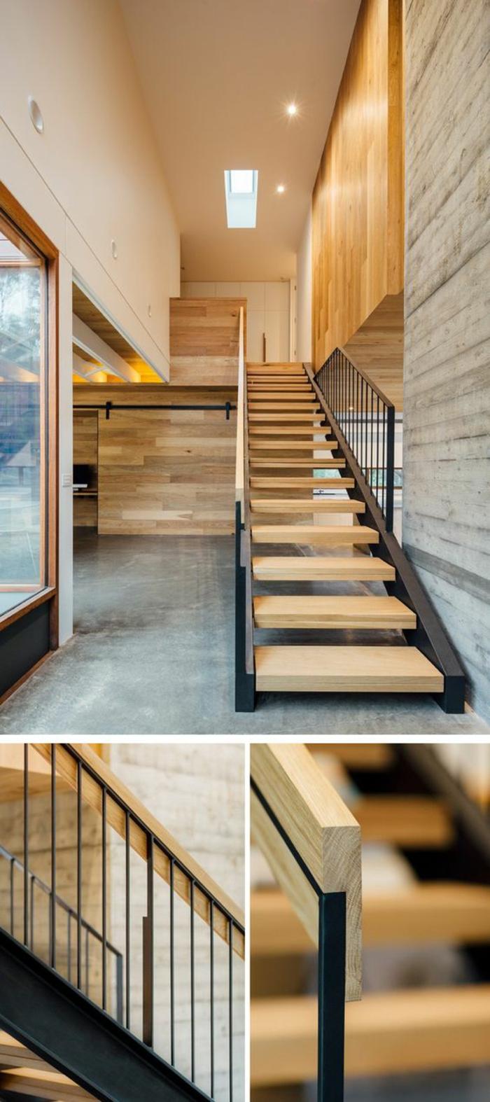 Décoration Marche Escalier Intérieur ▷ 1001+ idées pour un escalier design + les intérieurs