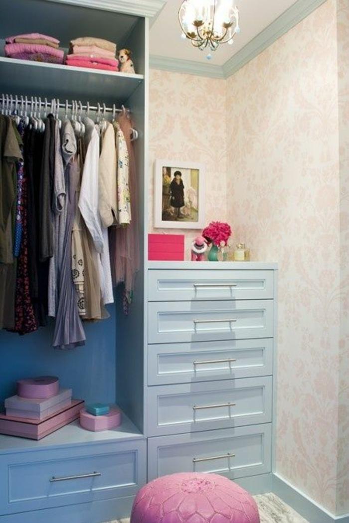 1001 id es pour savoir comment ranger sa chambre des for Chambre bleu pastel