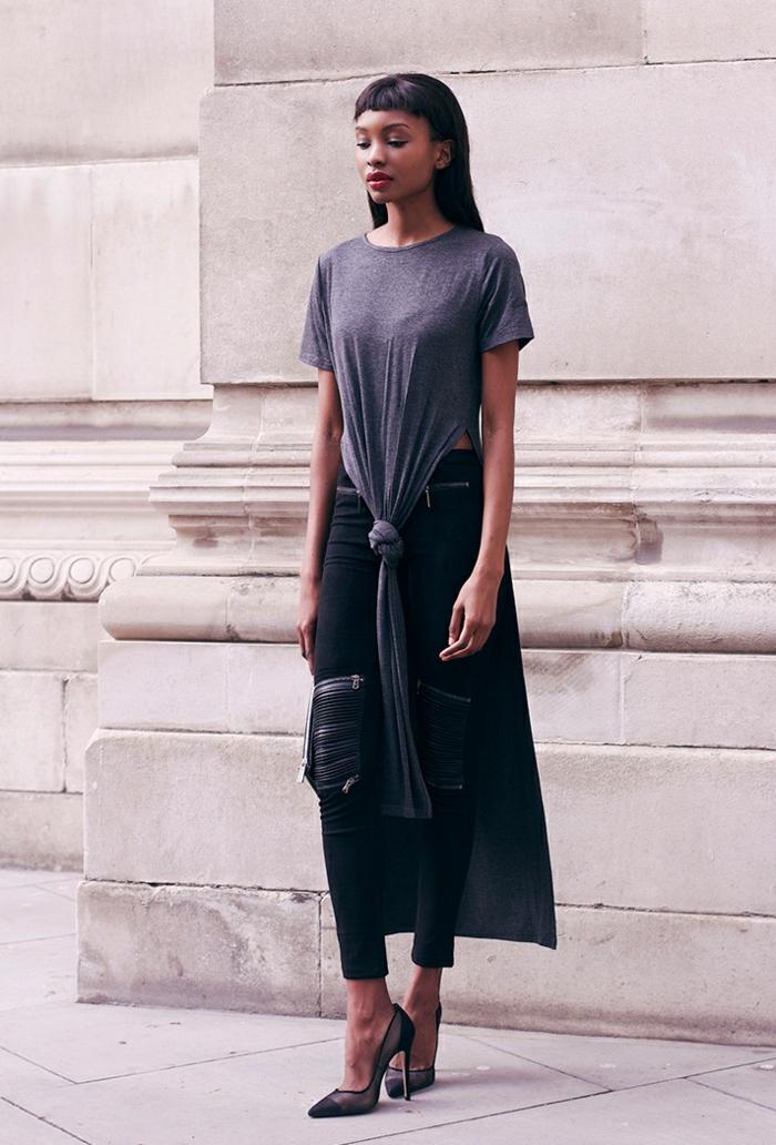 Adorable idee tenue simple et chic look femme chic vetements sexy femme chaussures à talon