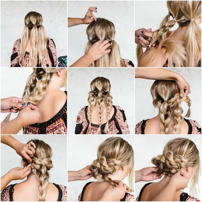 ▷ 1001 + tutoriels et idées pour réaliser une coiffure de