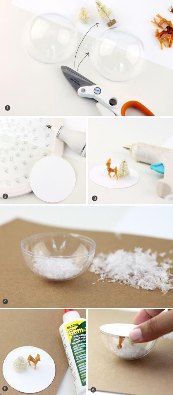 Comment Faire Des Boule A Neige ▷ 1001+ idées comment fabriquer une boule à neige cet hiver