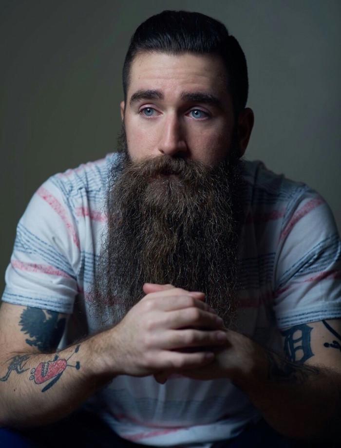 les plus belles barbes longues style zz top