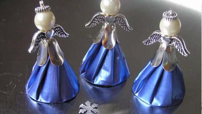 bricolage avec capsules nespresso tuto bijoux capsule de café objet déco recylage café