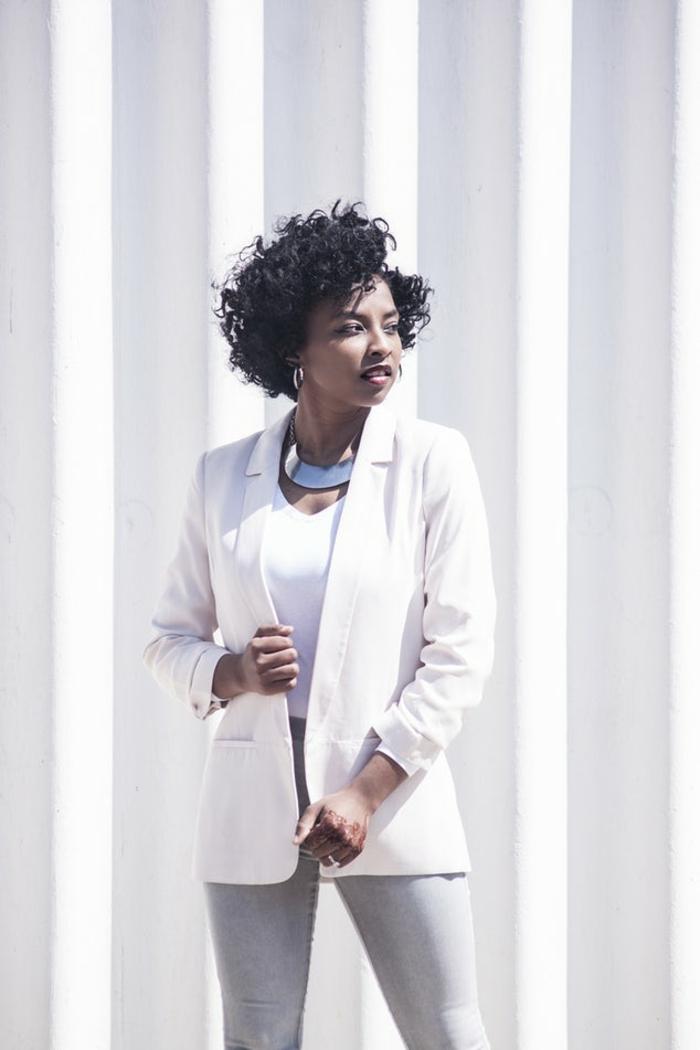 Chic decontracté femme combinaison noire promod cool tailleur simple