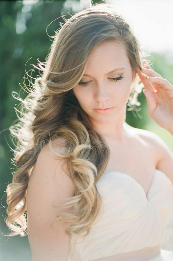 1001   id u00e9es pour la coiffure boucle mariage  trouvez les