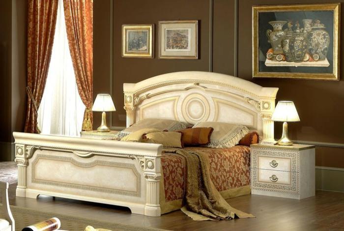 1001 id es magnifiques pour votre chambre baroque. Black Bedroom Furniture Sets. Home Design Ideas