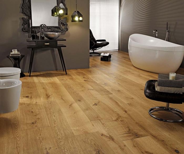 revetement salle de bain, modèle de miroir avec cadre noir aux motifs volutes et feuilles, meubles sous lavabo en noir