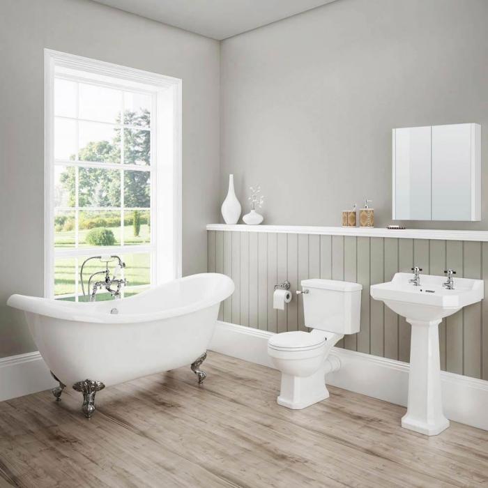 1001 mod les inspirants d 39 une salle de bain avec parquet. Black Bedroom Furniture Sets. Home Design Ideas