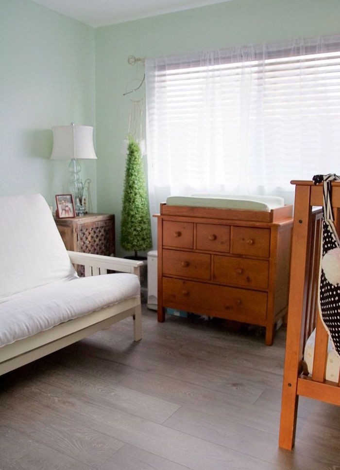 aménager chambre pour bébé avec couleurs pour sommeil