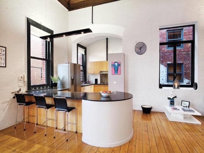 1001 id es cuisine am ricaine l 39 ouverture sans le mur - Modele de cuisine moderne americaine ...