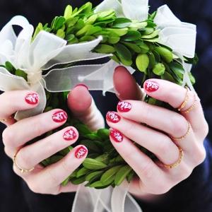 Nail art Noël - l'esprit festif sur les ongles. Plus de 70 idées et tutoriels fort créatifs
