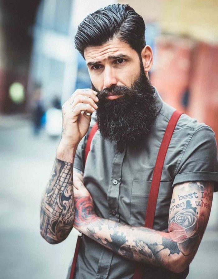 Barbe hipster le style poils obsigen - Look hipster homme ...