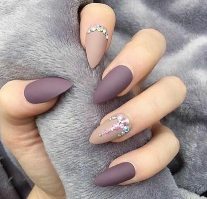 Quel nail art manucure ongle brillant et mat ail art nail ary cool