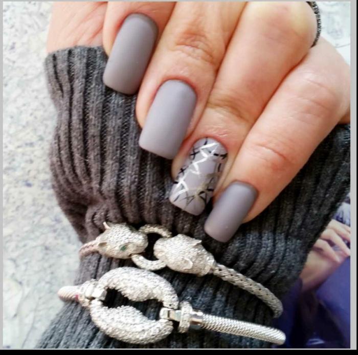 Faire du nail art vernis ongles mat modèles nail art ongles