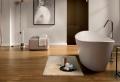 La salle de bain avec parquet ou les meilleures alternatives pour le plancher en bois dans l'espace humide