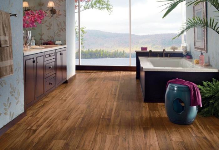 sol salle de bain en teck latest meuble salle de bain suspendu teck basic avec idees et mba p. Black Bedroom Furniture Sets. Home Design Ideas
