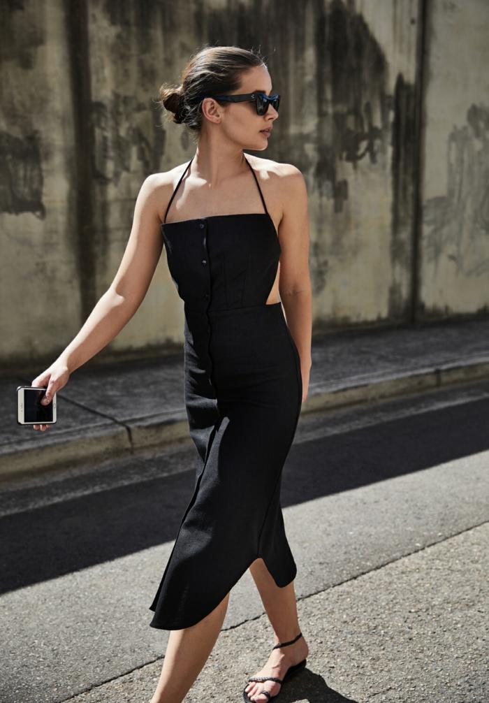 Quelle tenue décontractée chic femme être une femme bien habillée cool robe noire