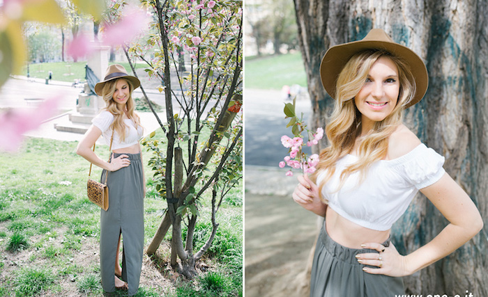 idée look bohème champêtre femme pour weekend à la campagne
