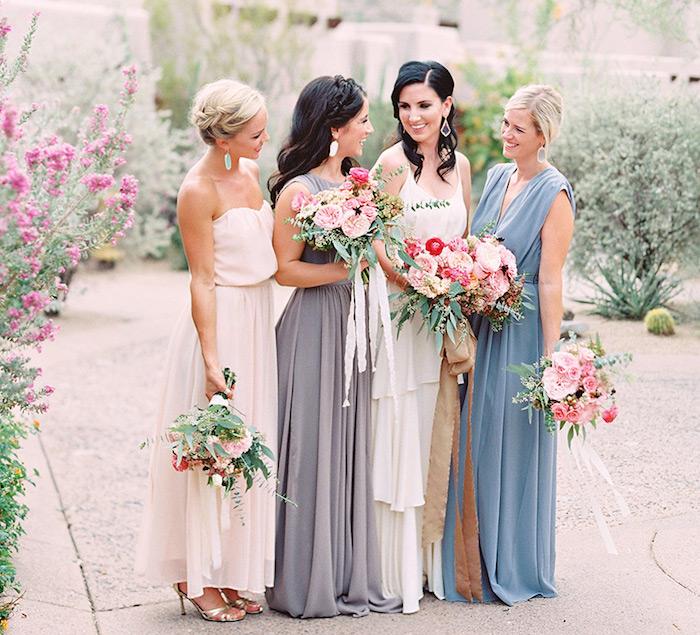 robe longue chic pour mariage style boheme