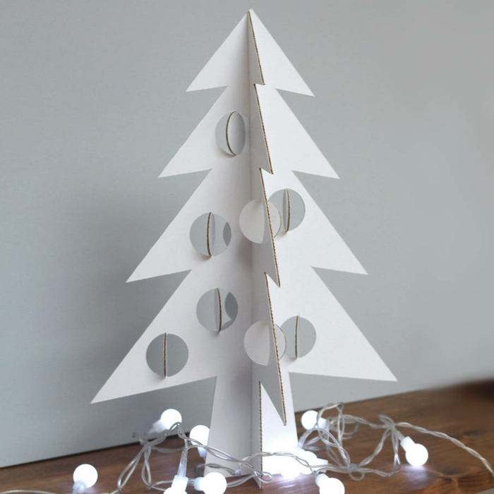 Parfait Fabriquez Votre Arbre De Noel En Carton à Lu0027aide De Nos Tutos Créatifs ...