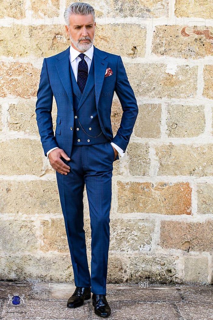 boss costume marié homme costumes 3 pièces mariage