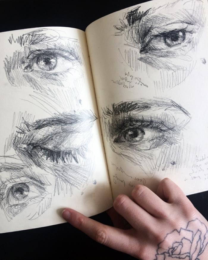 Art dessin noir et blanc animaux admirable dessin artistique oeil dessin yeux