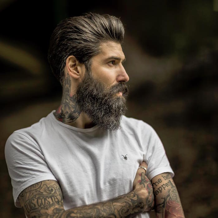 hipster homme comment tailler une barbe bien taillée en pointe