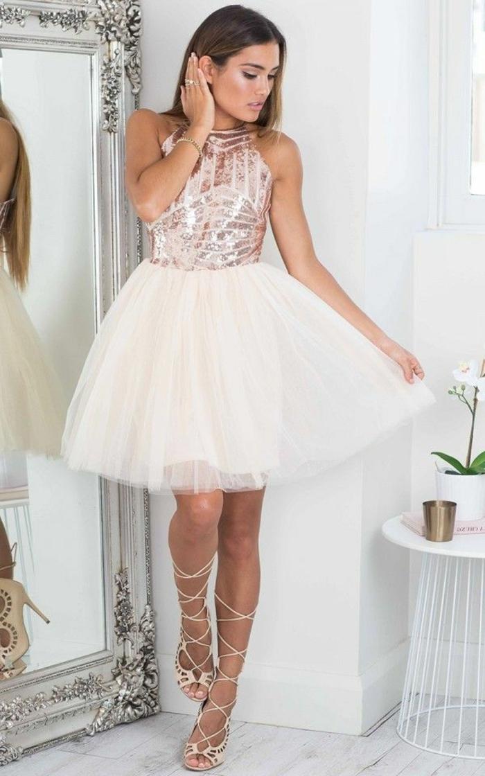robe blanche bustier longue pour bal de promotion la robe