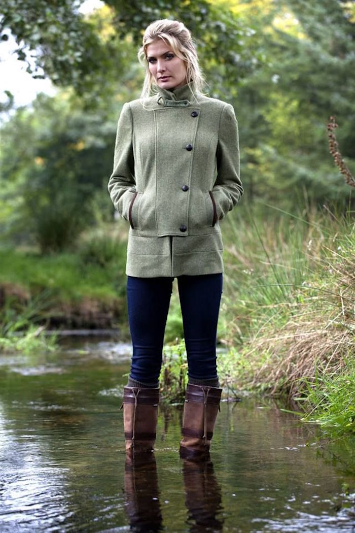 tenue champetre chic pour femme style chasse campagne