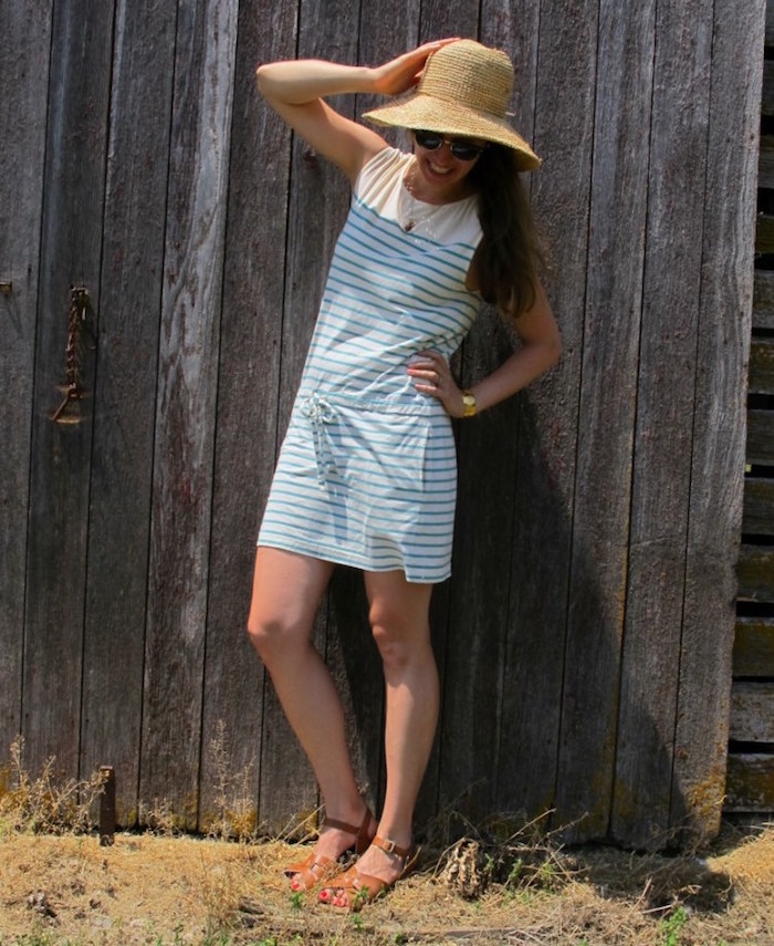 tenue pour boheme robe courte bobo campagne