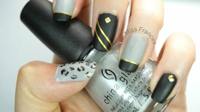 1001 id es pour le nail art mat qui vont vous donner un sourire brillante. Black Bedroom Furniture Sets. Home Design Ideas