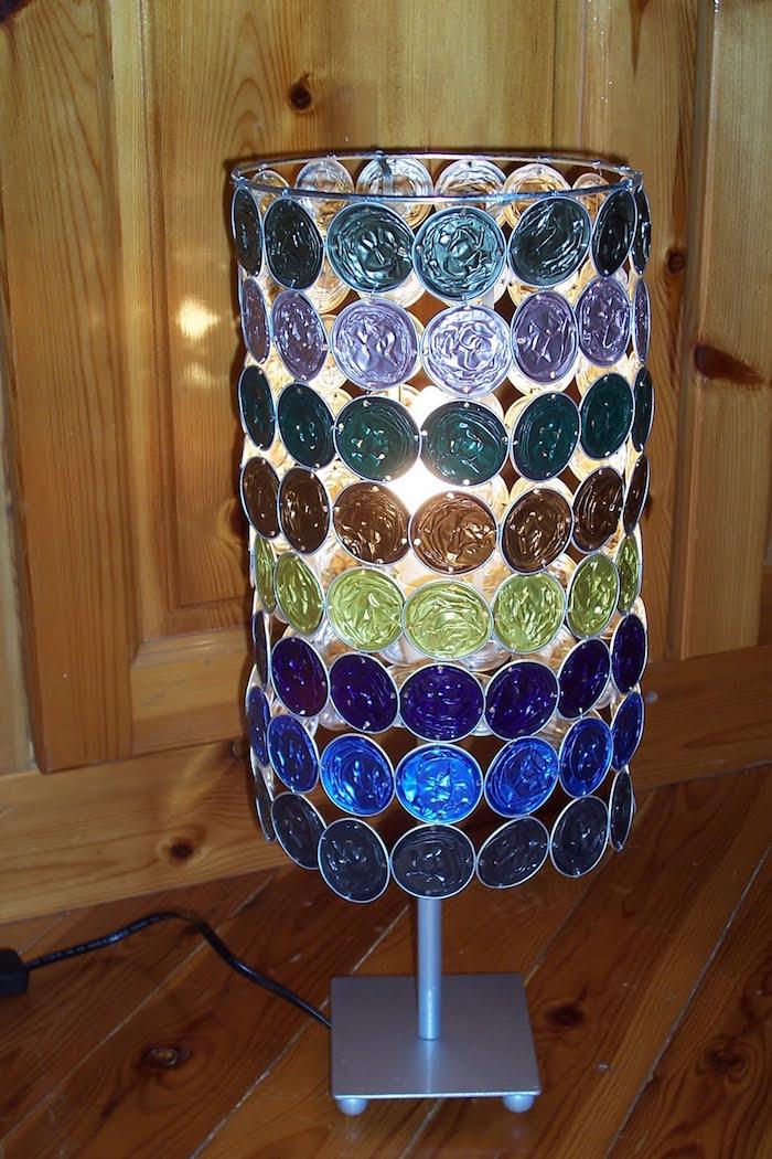 guirlande capsule nespresso lampe diy avec materieux recyclage facile