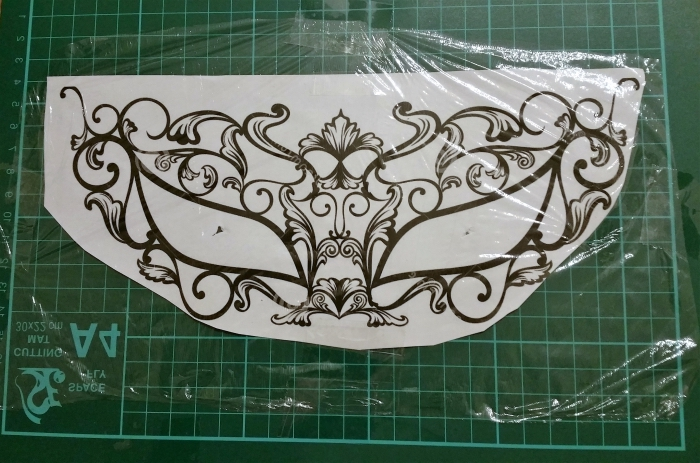 fabriquer un masque, patron de masque à imprimer et couper, étape à suivre pour faire un masque diy