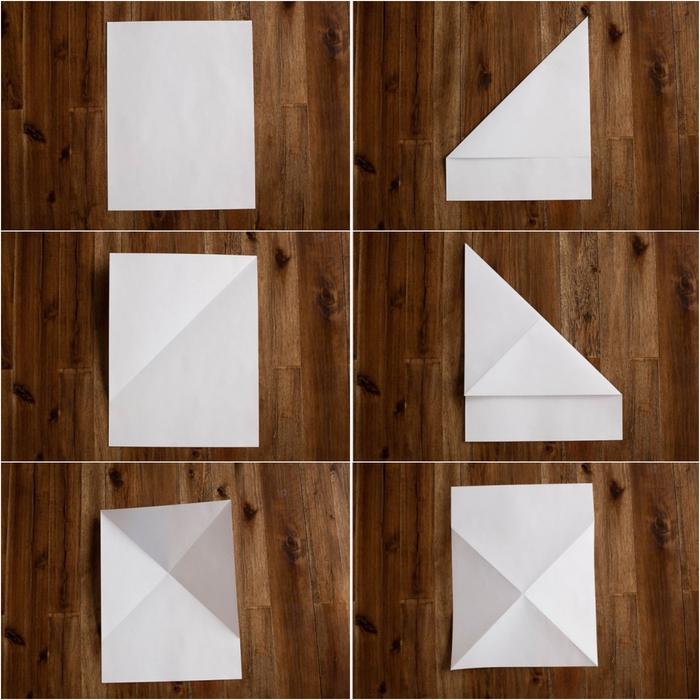 comment faire un avion en papier avec train d'atterrissage à l'aide d'une simple feuille de papier et des techniques de pliage faciles