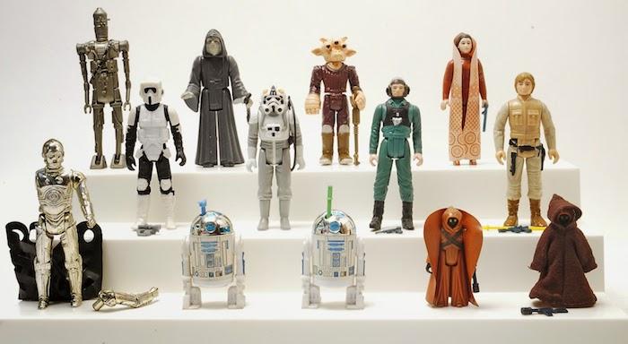 cadeau de noel ado garcon, collection de figurines star wars pour les amateurs de la série, exemple de cadeau geek