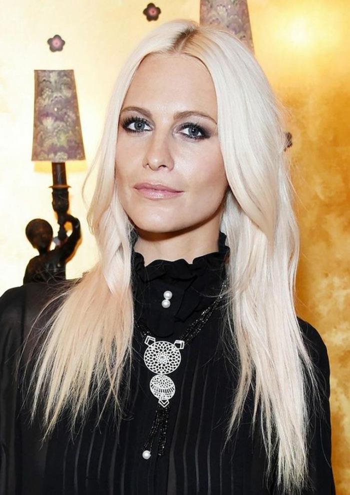 couleur de cheveux pour yeux bleu trendy leon de maquillage pour les cheveux blonds with. Black Bedroom Furniture Sets. Home Design Ideas