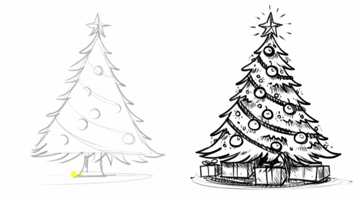 1001 id es pour dessiner un arbre merveilleux avec exemples. Black Bedroom Furniture Sets. Home Design Ideas