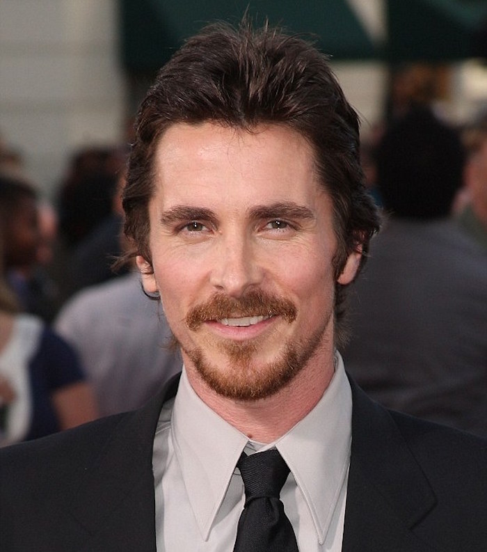 comment couper sa barbe bouc style Christian Bale