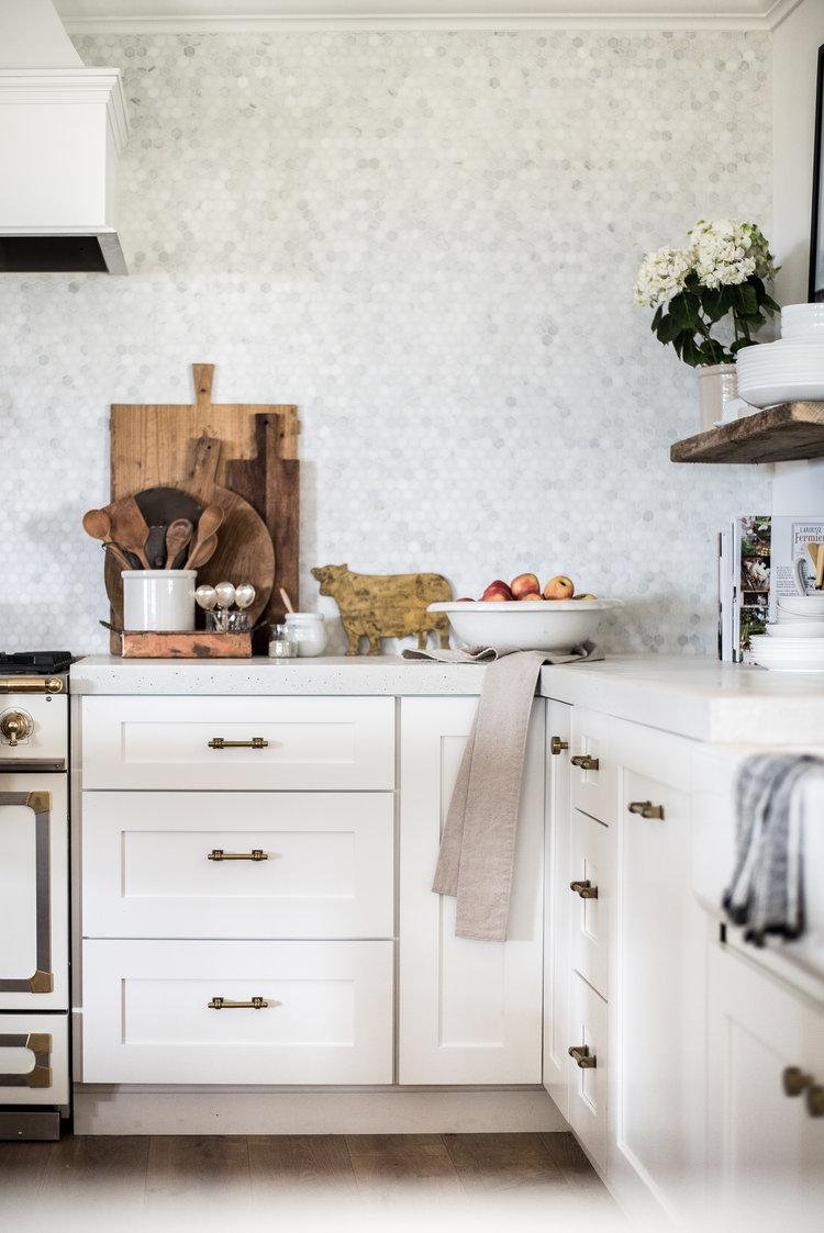 Cuisine Blanche Et Bleu ▷ 1001 + astuces et idées pour aménager une cuisine en l