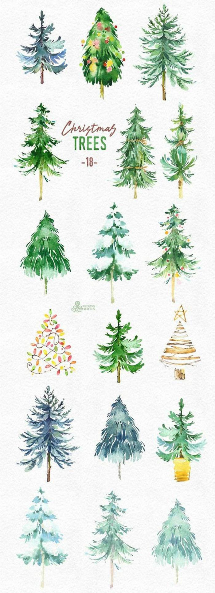 Dessin d arbre dessin au crayon noir arbre dessin beau dessin arbre de noel carte de noel, dessin d'arbre en couleur
