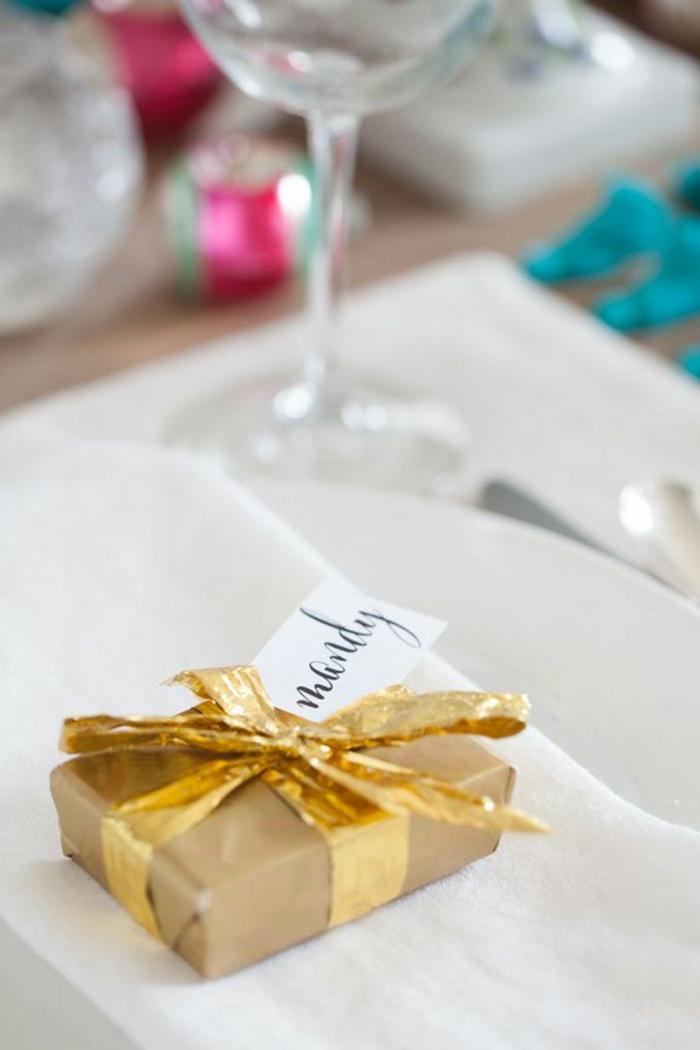 Décoration de table pour noel faire soi même simple à réaliser cadeau