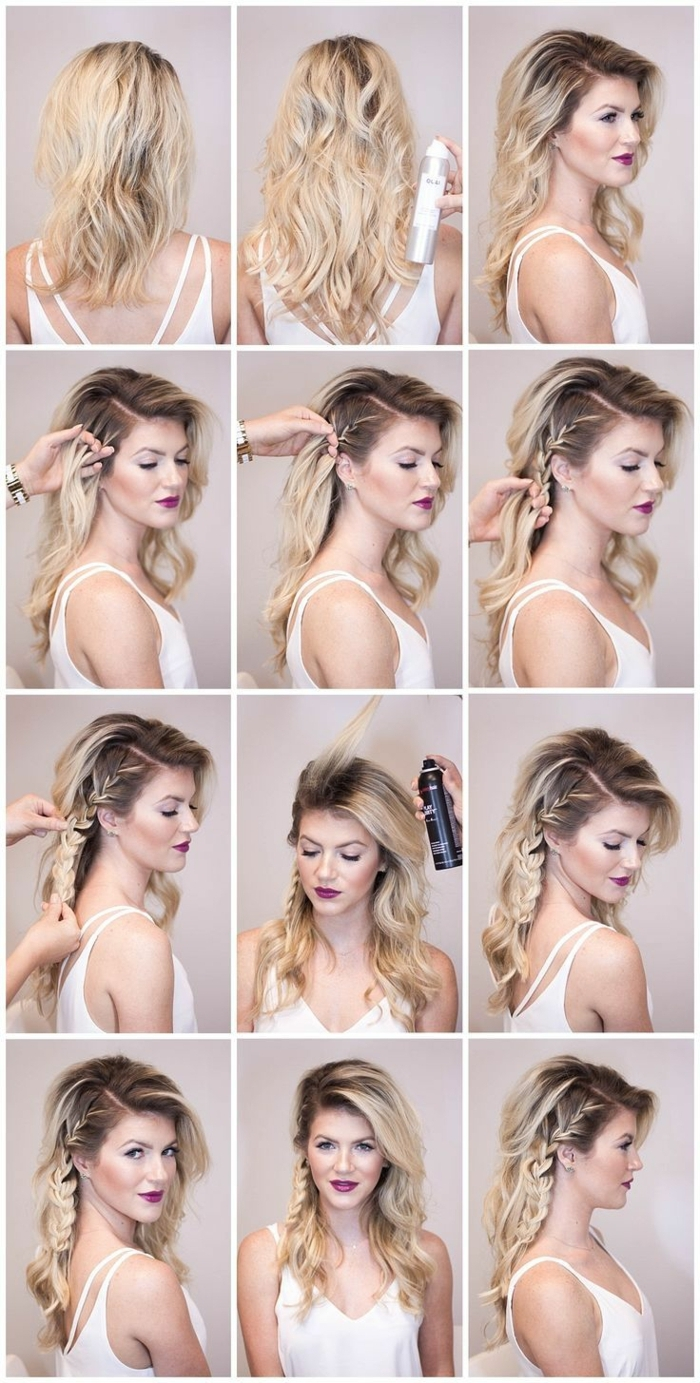 Noce coiffure mariée cheveux détachés coiffure mariée champetre faire des boucles ondués